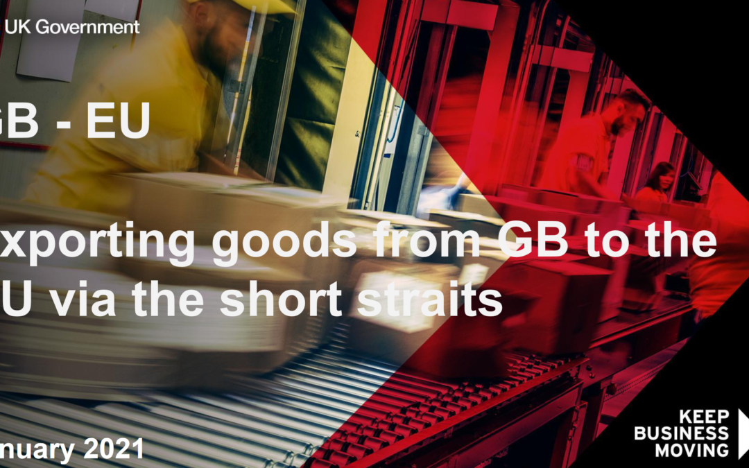 Exportación de mercancías desde el Reino Unido a la UE a través del Estrecho – Documento de preguntas y respuestas